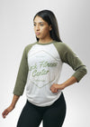 Rock Fitness Center Baseball tee