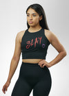 Slay Heart Crop Top
