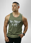 The Great I AM men tanktop
