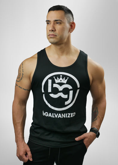 BG Black Men's Tanktop