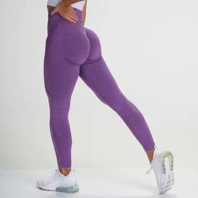 High Waist Wide Waistband Seamless Leggings