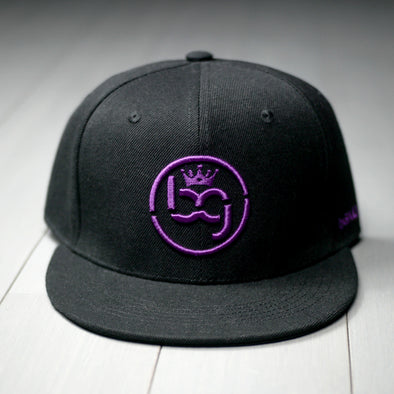 BG purple Snap-back
