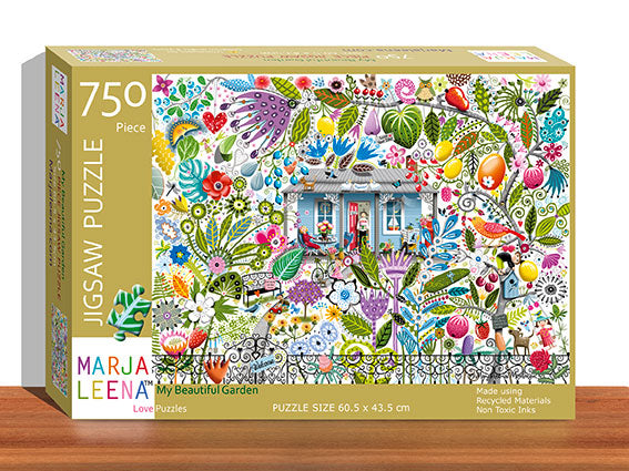 My Beautiful Garden 750 Piece Jigsaw