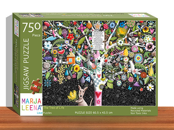The Tree of Life 750 Piece Jigsaw