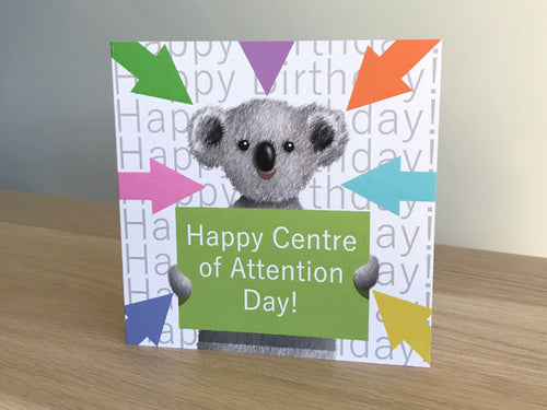 Happy center of Attention Day