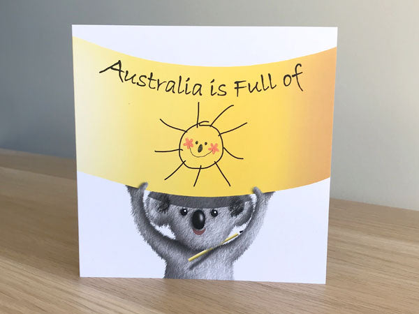 Australia is full of Sunshine