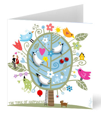 Tree of Happiness Card