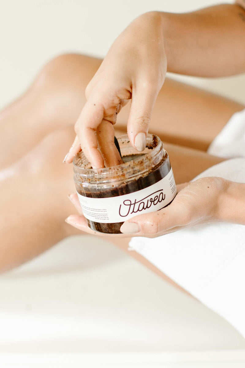 Chocolate Coffee Body Scrub.