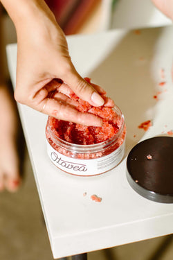 Strawberry Body Scrub