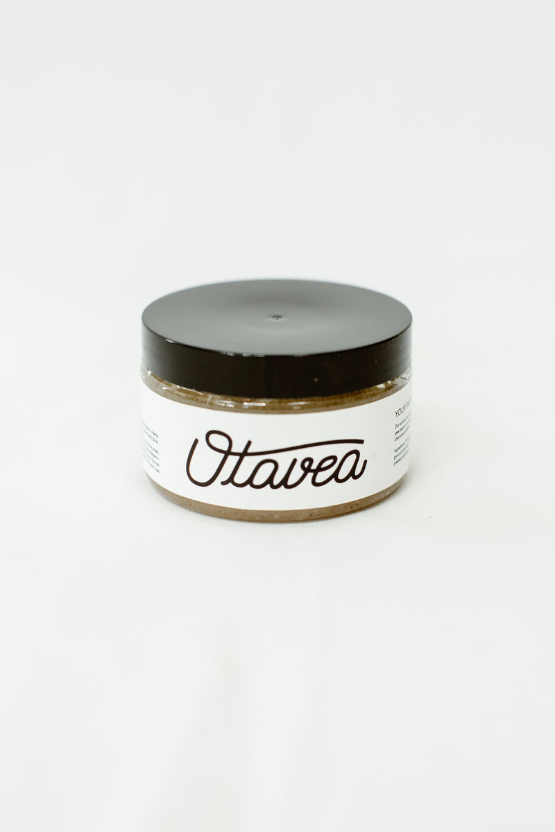 4oz jar of Vanilla Body Scrub from Otavea