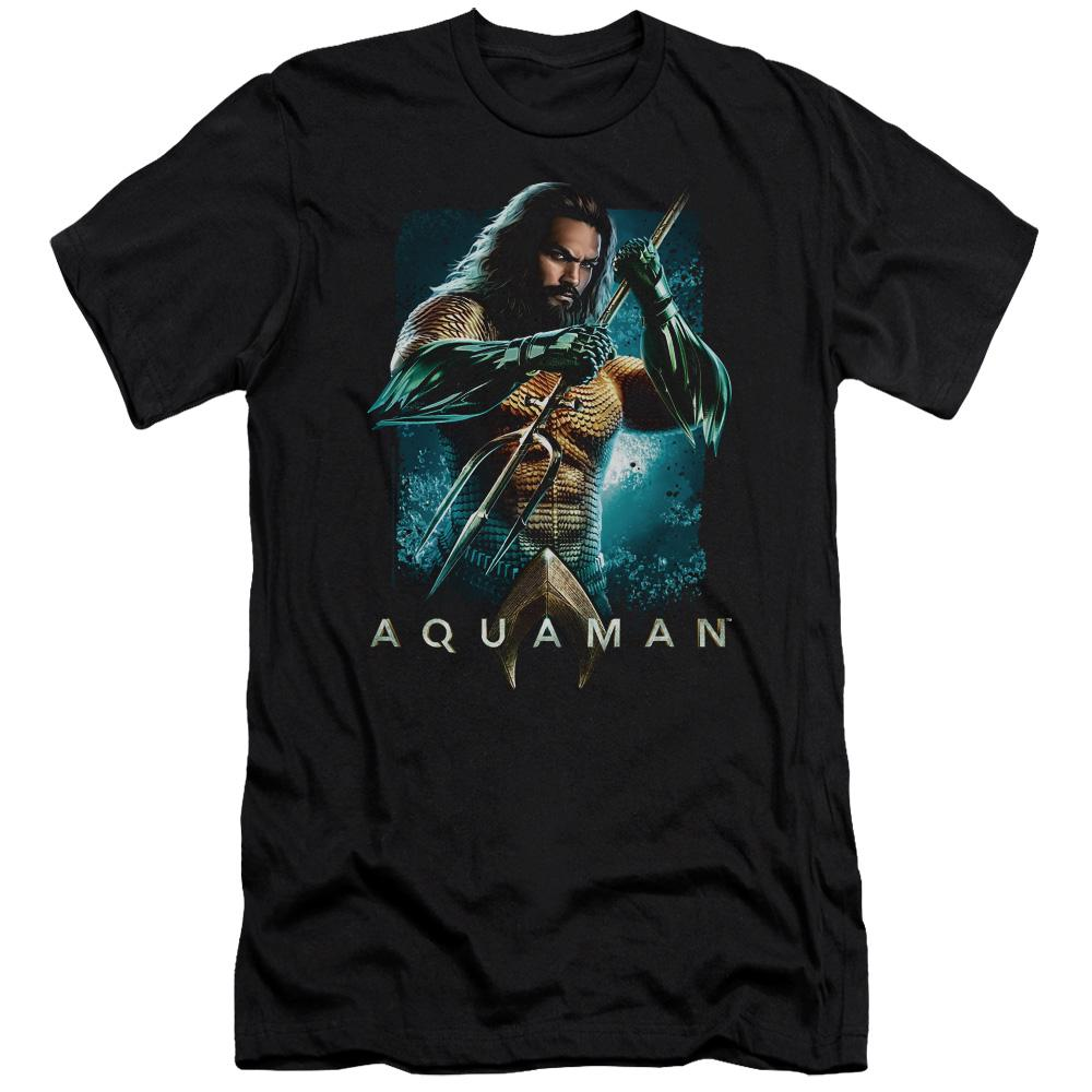 aquaman-movie-jason-momoa-holding-a-trident-premium-canvas-brand-adult-t-shirt-in-black.