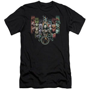 aquaman-movie-aquaman-standing-with-his-team-unite-the-kingdom-premium-canvas-brand-women's-t-shirt-in-black.