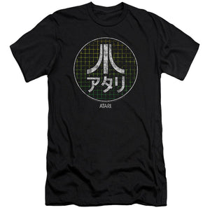 atari-japanese-grid-logo-premium-canvas-brand-adult-t-shirt-in-black