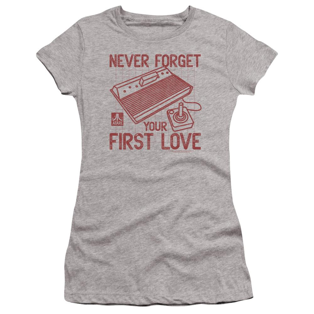 atari-remember-your-first-love-premium-bella-brand-t-shirt-in-gray