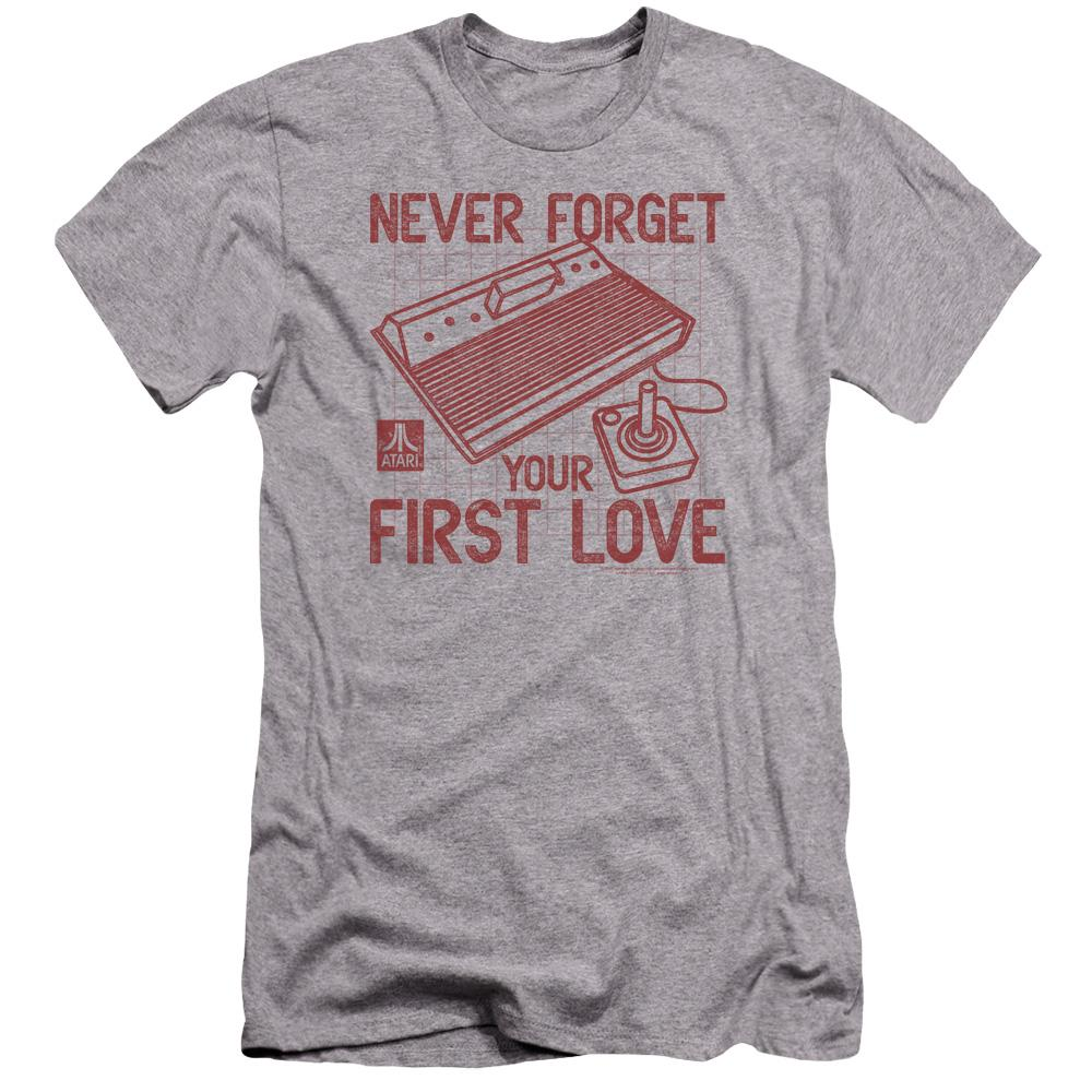 atari-remember-your-first-love-premium-canvas-brand-adult-t-shirt-in-gray