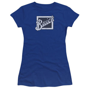 distressed-buick-emblem-premium-bella-brand-t-shirt-in-blue