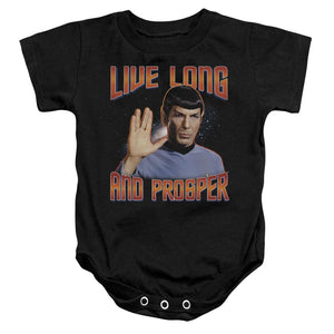 spock-giving-the-vulcan-salute-live-long-and-prosper-infant-snapsuit-in-black