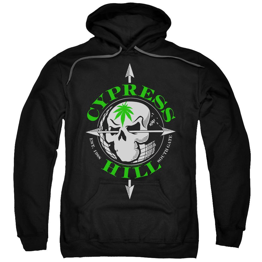 cypress-hill-band-logo-adult-hoodie-in-black