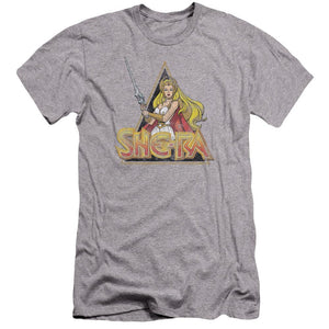 she-ra-in-a-battle-stance-holding-a-sword-premium-canvas-brand-t-shirt-in-gray