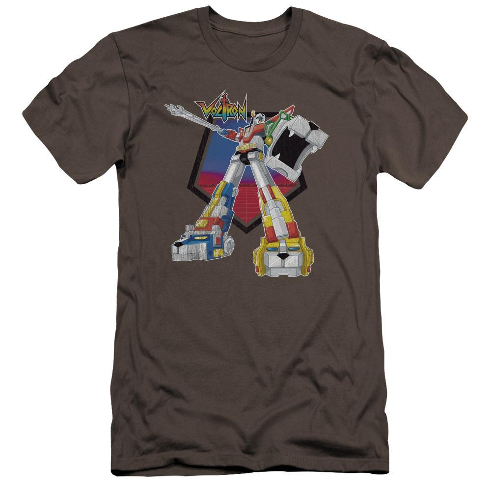 voltron-waving-a-blazing-sword-premium-bella-brand-t-shirt-in-charcoal-gray