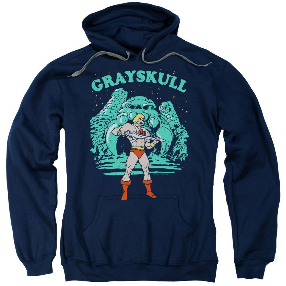 masters-of-the-universe-he-man-standing-in-front-of-greyskull-hoodie-in-blue