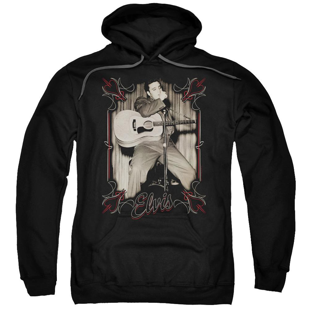 elvis-presley-performing-live-on-stage-adult-hoodie-in-black