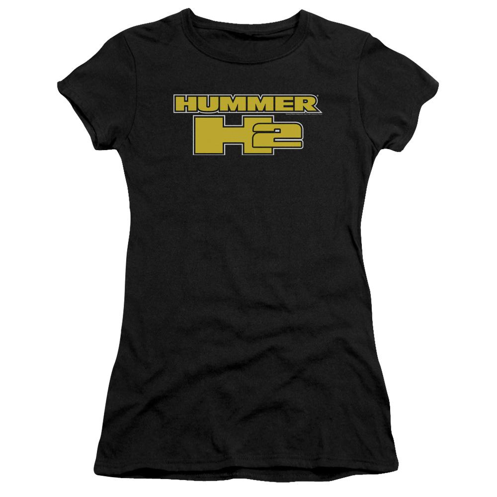 hummer-h2-written-in-yellow-block-letters-premium-bella-brand-t-shirt-in-black