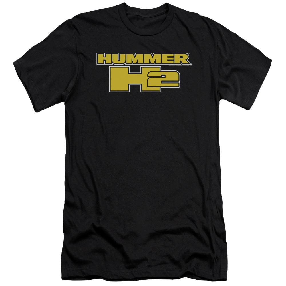 hummer-h2-written-in-yellow-block-letters-premium-canvas-brand-adult-t-shirt-in-black