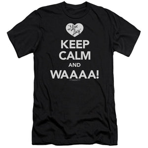i-love-lucy-keep-calm-and-waaa-premium-canvas-brand-adult-t-shirt-in-black