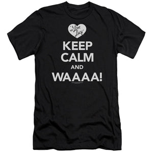 i-love-lucy-keep-calm-and-waaa-premium-canvas-brand-t-shirt-in-black
