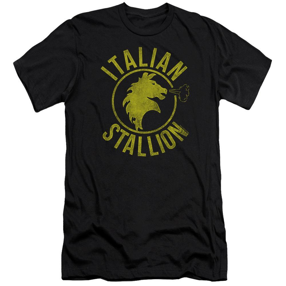 rocky-italian-stallion-logo-premium-canvas-brand-t-shirt-in-black