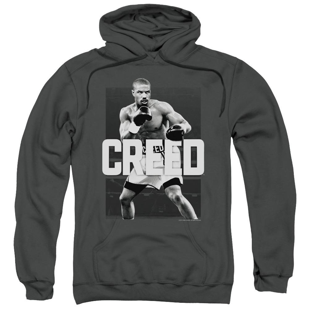 michael-b.jordan-as-adonis-creed-in-a-boxing-stance-ready-to-fight-adult-hoodie-in-charcoal-gray