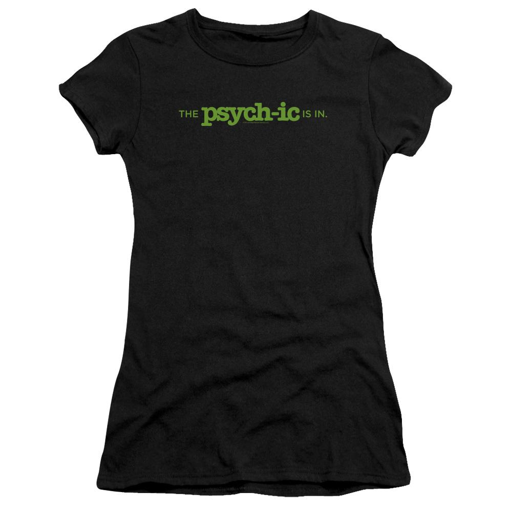psych-tv-show-premium-bella-brand-t-shirt-in-black-says-the-psychic-is-in