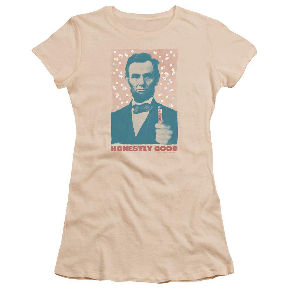 abe-lincoln-holding-a-smarties-candy-honestly-good-premium-bella-brand-t-shirt-in-cream