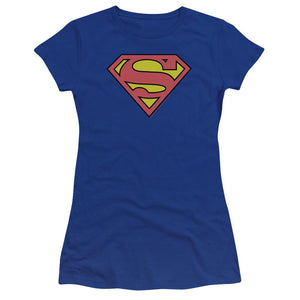 superman-classic-logo-premium-bella-brand-t-shirt-in-blue