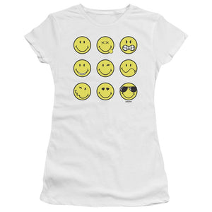nine-smiley-faces-premium-bella-brand-t-shirt-in-white