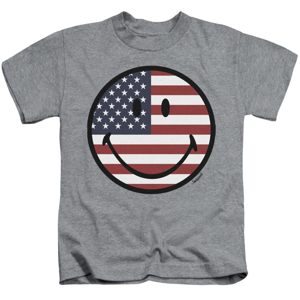 smiley-face-with-the-american-flag-design-kids-t-shirt-in-gray