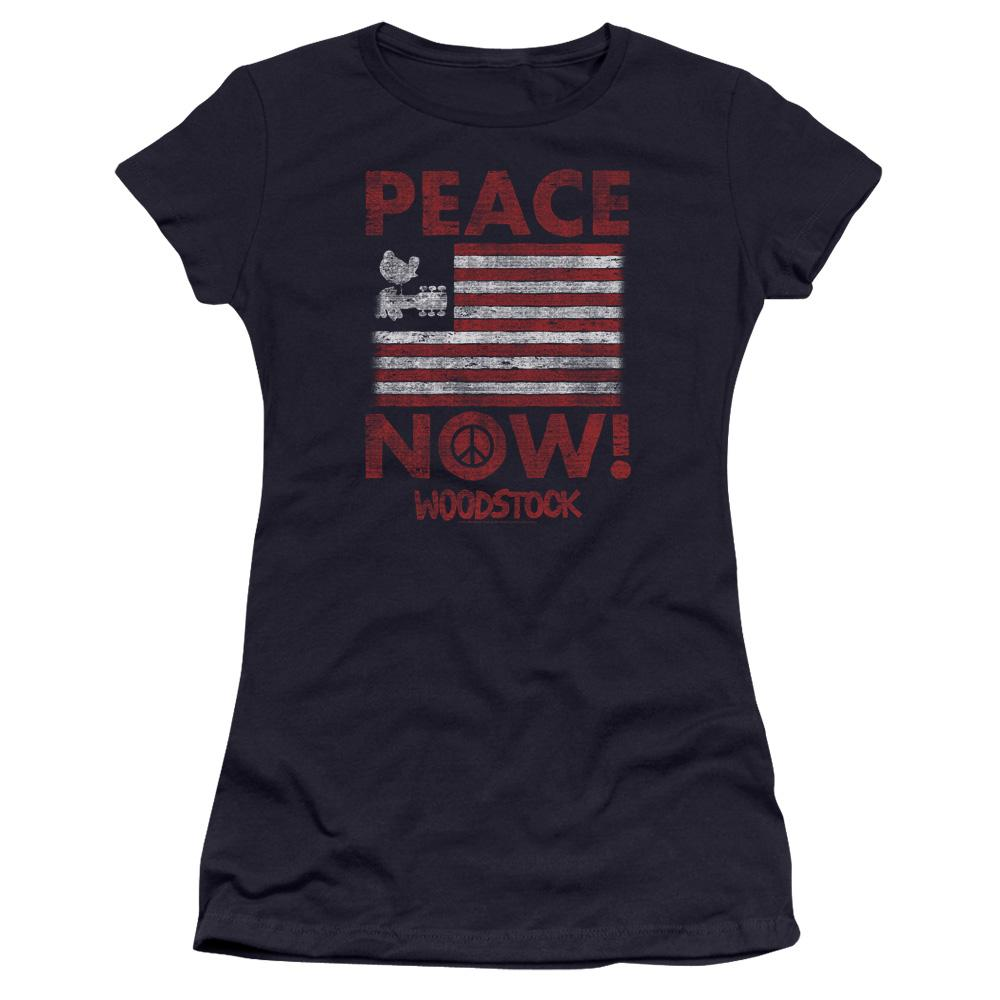 woodstock-peace-now-premium-bella-brand-t-shirt-in-navy