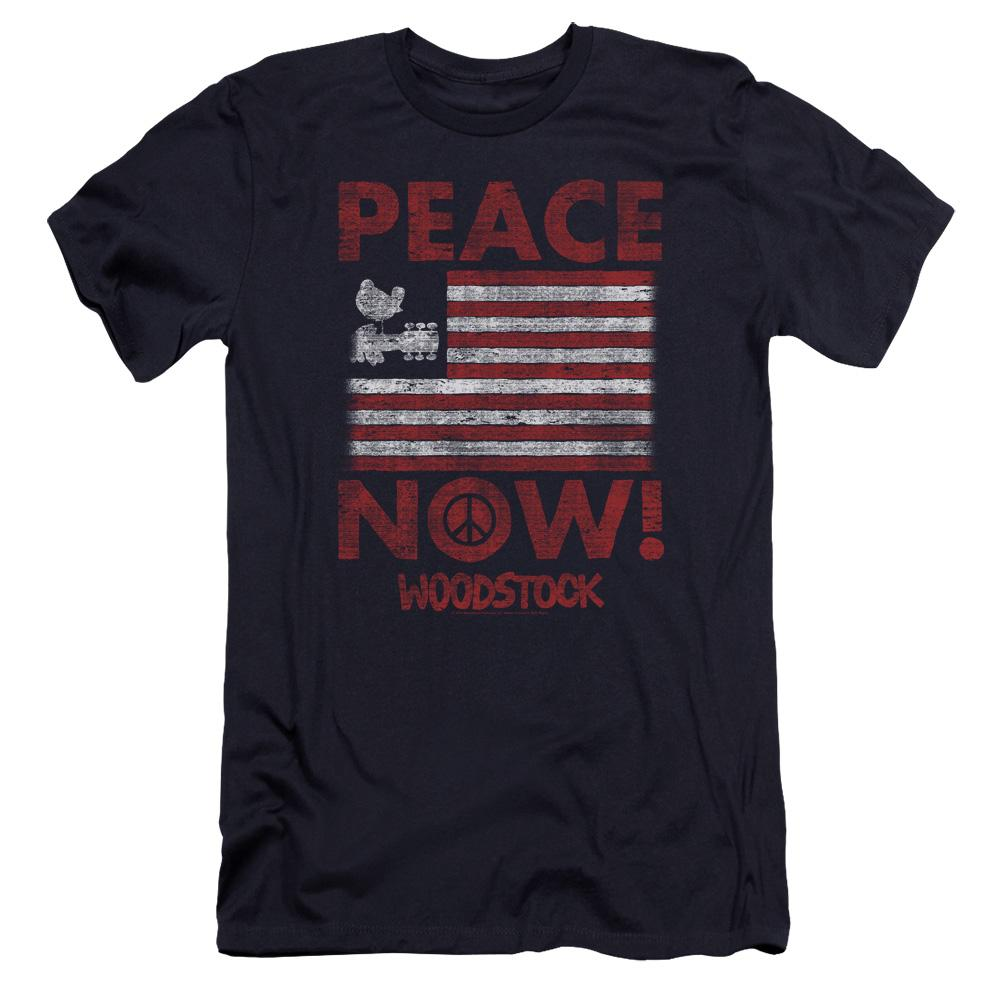 woodstock-peace-now-premium-canvas-brand-adult-t-shirt-in-navy