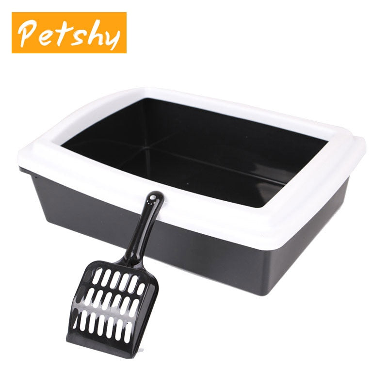 Cat Semi-Closed Anti-Splash Bed Pans