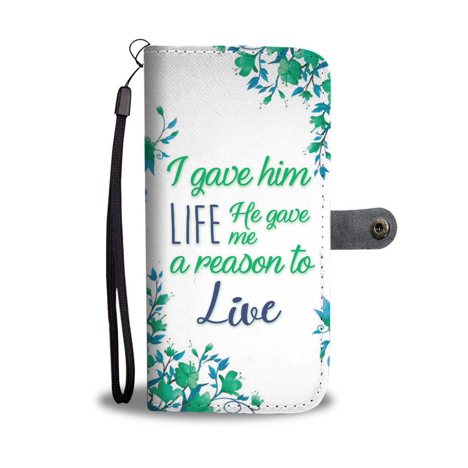 Mother Son Love Wallet Phone Case