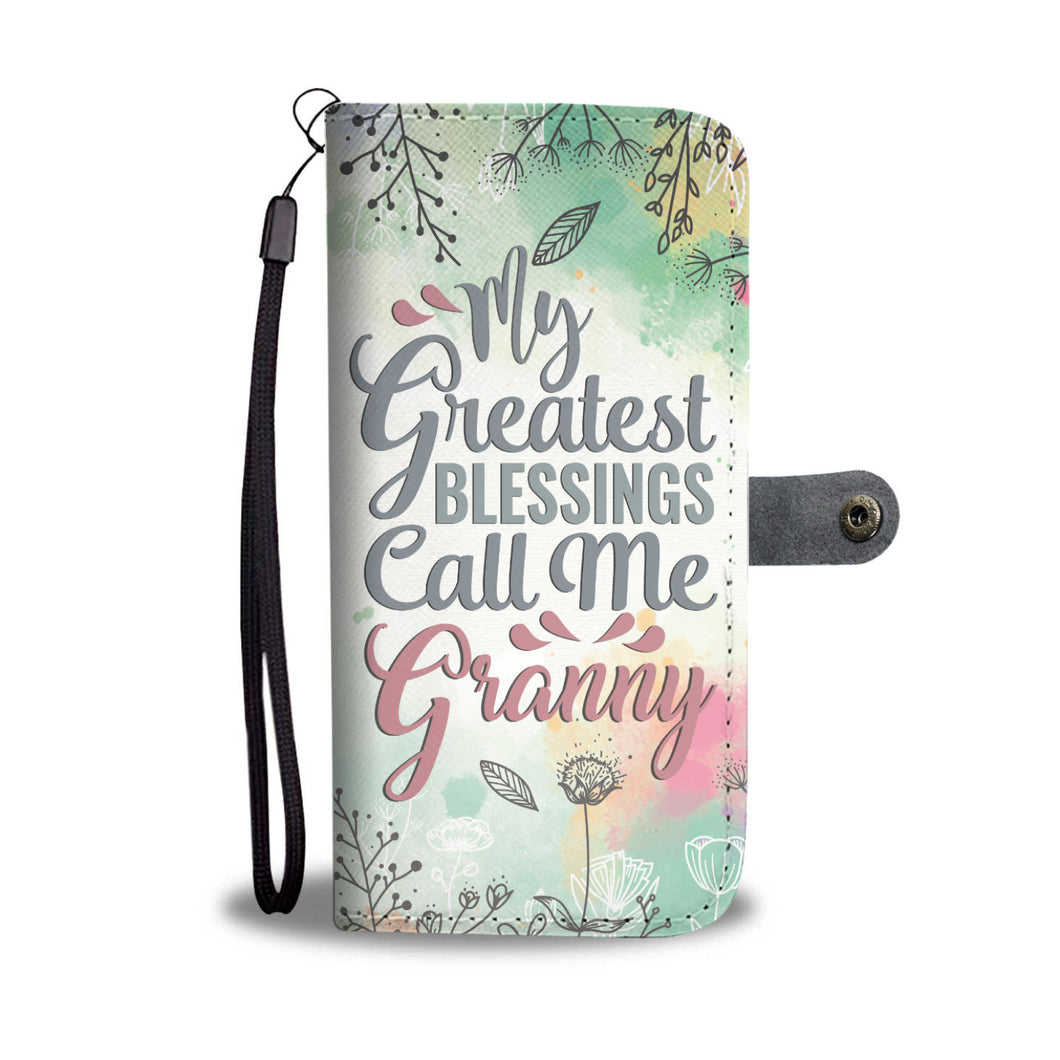 Granny/Grandmother Wallet Phone Case