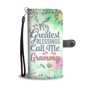 Grammy/Grandmother Wallet Phone Case