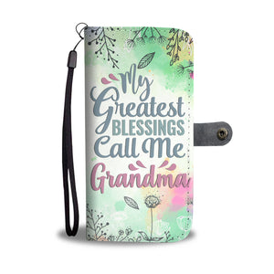 Grandma/Grandmother Wallet Phone Case