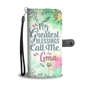 Gma/Grandmother Wallet Phone Case