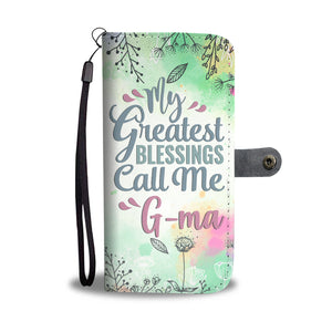 G-ma/Grandmother Wallet Phone Case