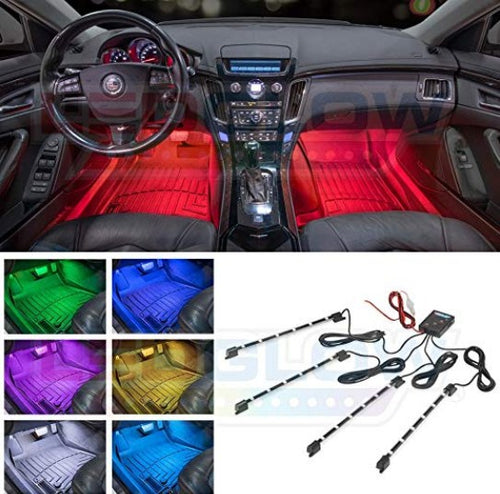 Brand New Sound Activated Interior Car LED Lights