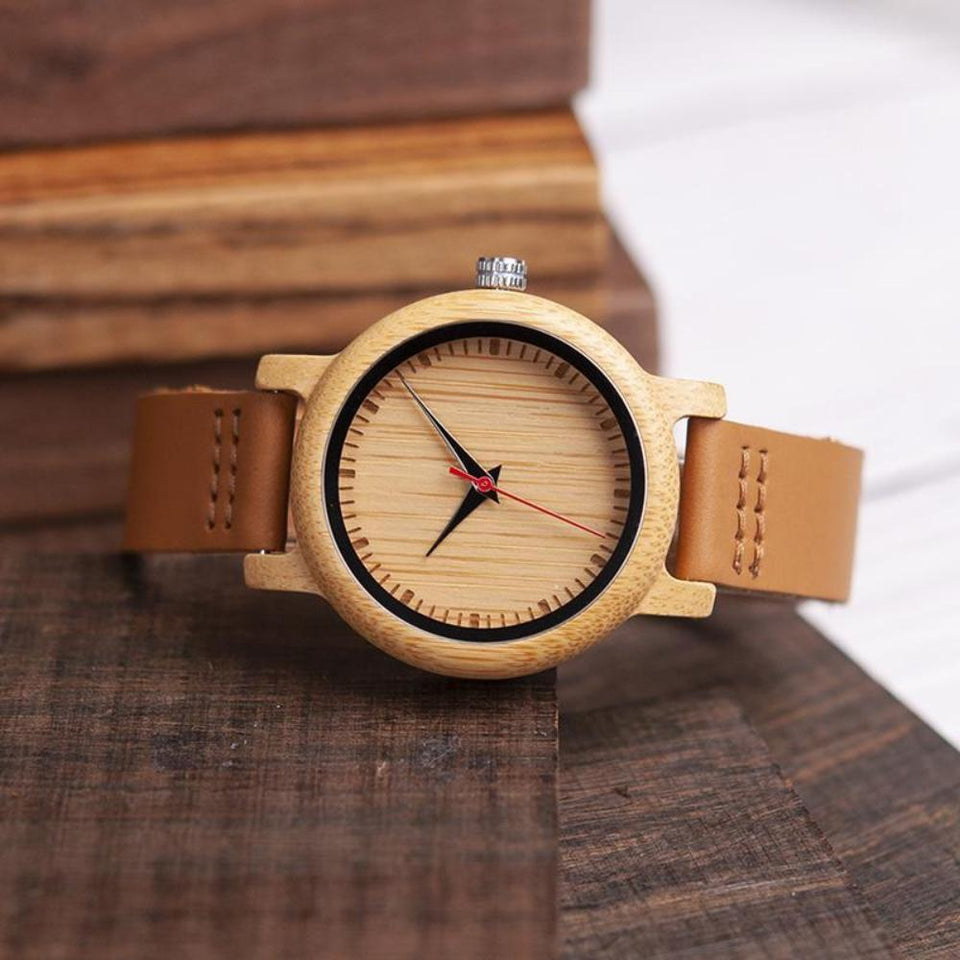 Always My Friend from Daughter to Mom Wooden Watch