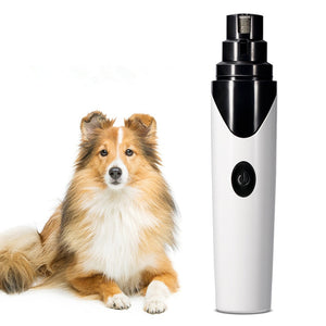 Rechargeable Electric Pet Claw Nail Grinder Pedicure Grooming Tool