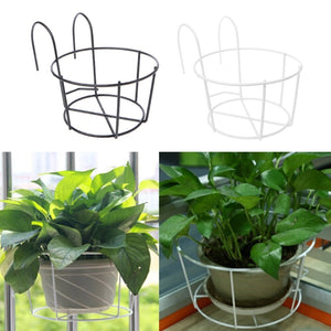 Flower Pot Hanging Iron Racks Round
